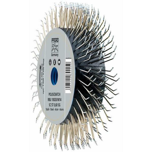 Pferd Poliscratch Brush For Angle Grinder - 100mm