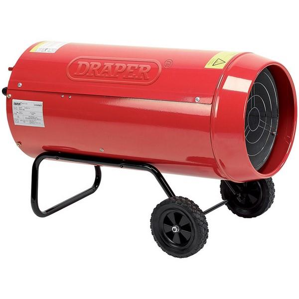 Draper 19753 Propane Space Heater 75W Red