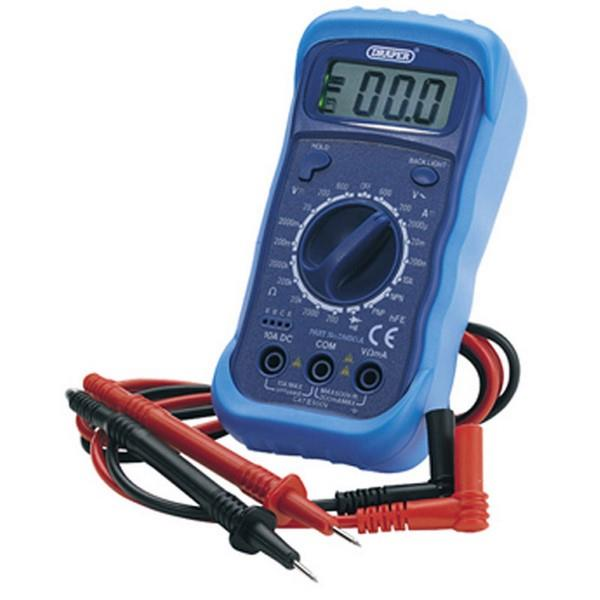 Draper 60792 Digital Multimeter With Light