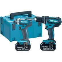 Makita Dlx2131 18V Lithium Combi and Impact Driver