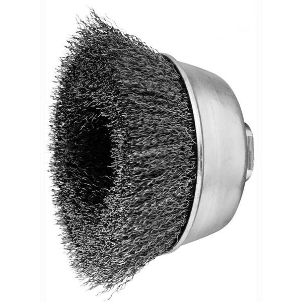 Pferd Crimped Wire Brush Stainless