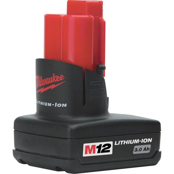 Milwaukee M12Bx 12V 3.0Ah Lithium Battery