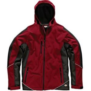 Dickies Two Tone Red/Black Softshell Jacket