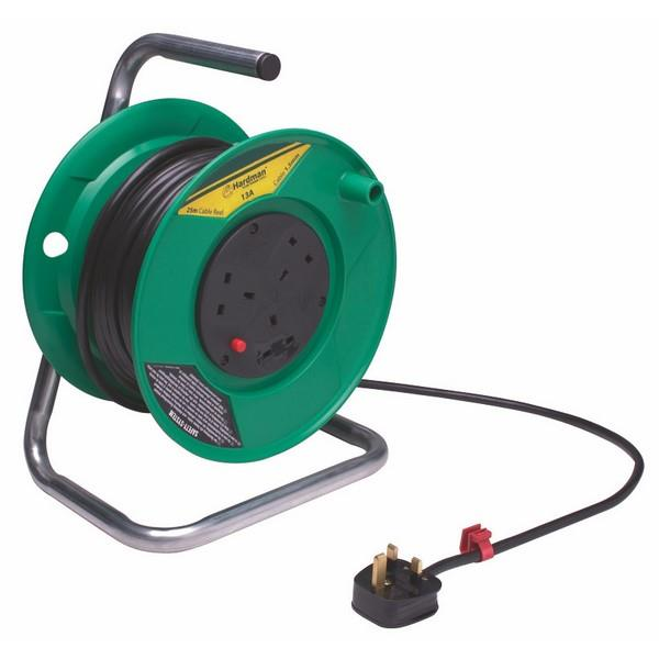 Heavy Duty Extension Reel 240V 25M 13A