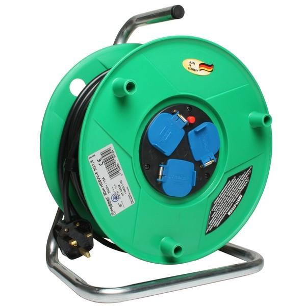 Heavy Duty Extension Reel 240V 50M 13A