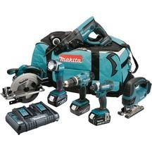 Makita Dlx6068Pt 18V 5.0Ah Lithium 6 Piece Kit