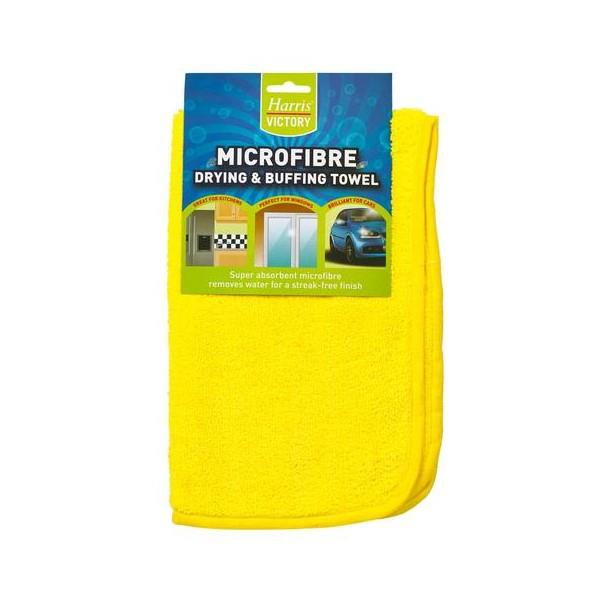 Harris Microfibre Drying and Buffing Towel