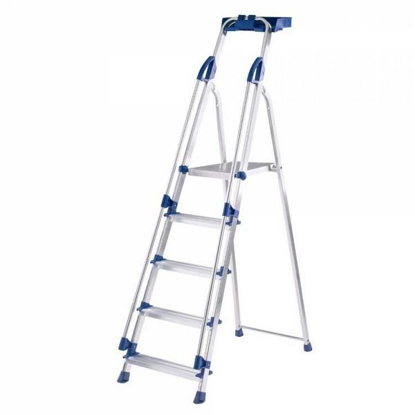 Stepladder 5 Tread Work Station