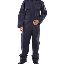 Beeswift Contract Cfrbs Fire Retardant Boilersuit - Navy