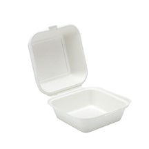 Compost-Able Hinged Food Box