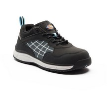 Dickies Womens Elora Safety Trainers Black/Blue