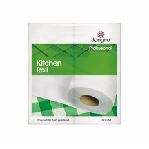 Jangro Kitchen Rolls White 2-ply
