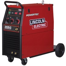 Lincoln Electric Powertec 305C MIG Unit 415V Package