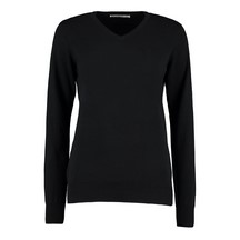 Kustom Kit Ladies Arundel Sweater Black