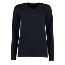 Kustom Kit Ladies Arundel Sweater Navy