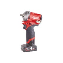 Milwaukee M12Fiwf12-0 12V Stubby 1/2In Impact Wrench - Body Only