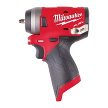 Milwaukee M12Fiw14-0 12V Stubby 1/4In Impact Wrench - Body Only
