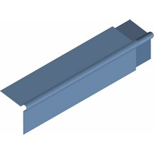 Fibre Cement Roll Top Barge Board 200x200